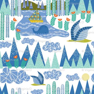 Swedish Folk: A Bird's eye view