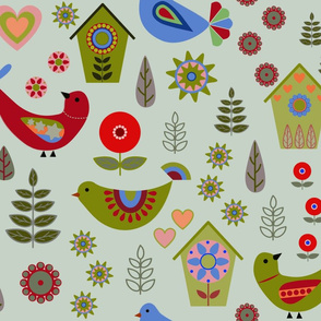 Swedish_Folk_Art in many colors