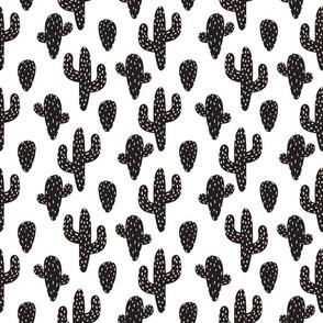 Scandinavian style bold cacti