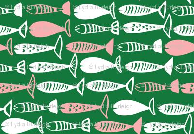 Fish in green