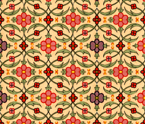 indo-persian 138 fabric by hypersphere on Spoonflower - custom fabric
