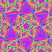 Hand Drawing Kaleidoscope_Pattern094
