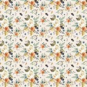 "1.75"" Western Autumn / More Florals / Ivory"