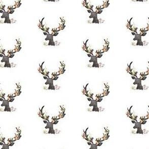 "1.75"" Autumn Deer in White"