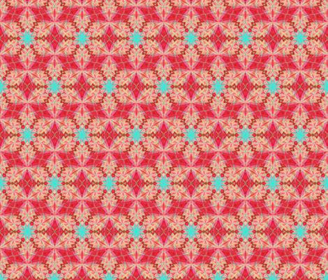 kaleidoscope_pattern 103 fabric by cveti on Spoonflower - custom fabric