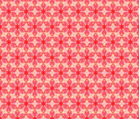 Flower of Life Pattern Fabric Pink  fabric by cveti on Spoonflower - custom fabric