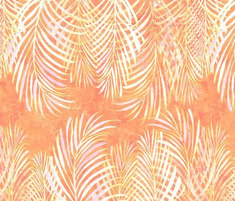Linear Palms Sunset 200 fabric by kadyson on Spoonflower - custom fabric