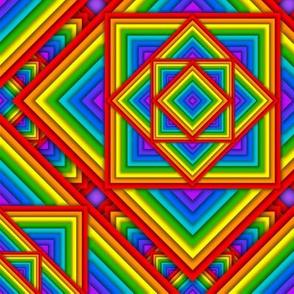 Rainbow Pyramids
