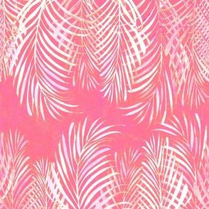 Linear Palms Salmon 200