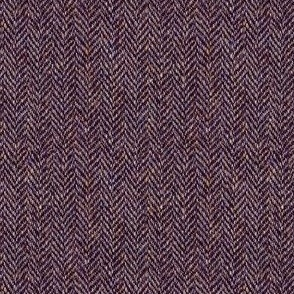 faux tweedy burgundy herringbone