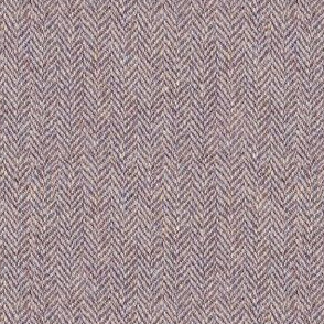 faux tweedy light mauve herringbone