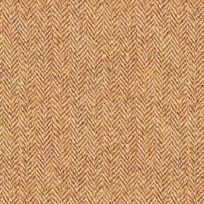 faux tweedy red-gold herringbone