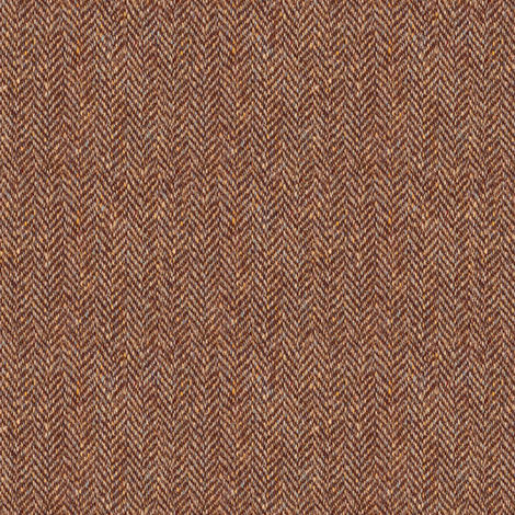 faux tweedy chestnut-brown herringbone fabric by weavingmajor on Spoonflower - custom fabric