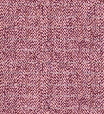 faux tweedy light red herringbone
