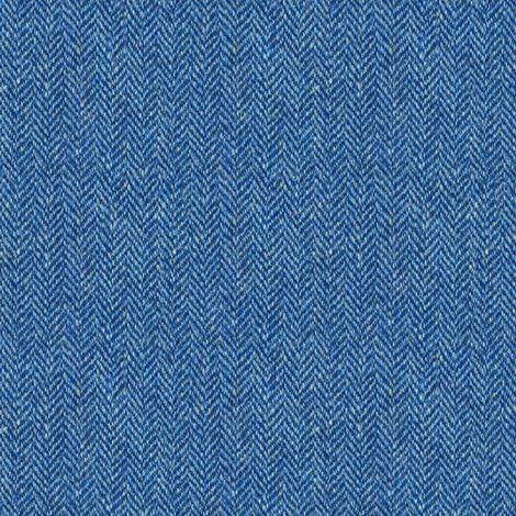 faux tweedy denim blue herringbone fabric by weavingmajor on Spoonflower - custom fabric