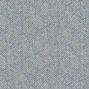 faux tweedy dove grey herringbone