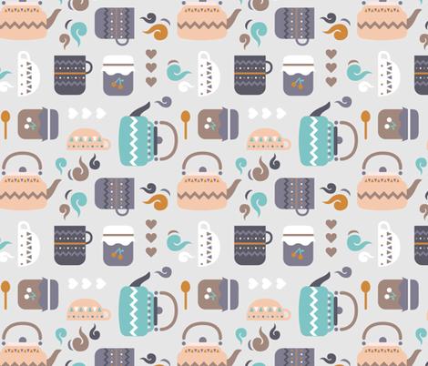 Hygge - hyggestund fabric by ewa_brzozowska on Spoonflower - custom fabric