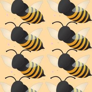 Bees One Peach