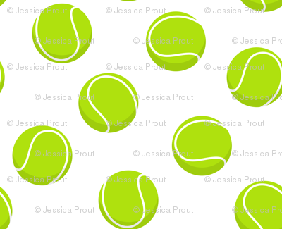 (small scale) tennis balls