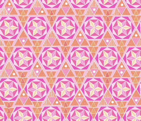 Bohemian Sorbet fabric by vinpauld on Spoonflower - custom fabric