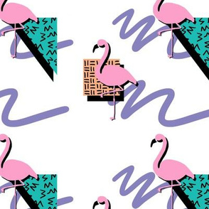 Saved By The Flamingo