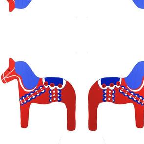 Swedish dala red horse icon
