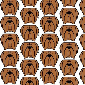 Mastiff fabric! Perfect for the mastiff obsessed!