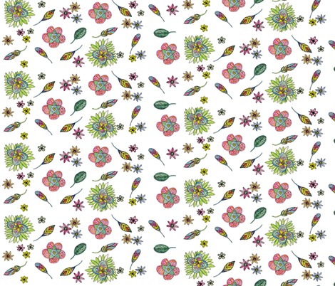 Youthful Boho fabric by casey_belle_ on Spoonflower - custom fabric