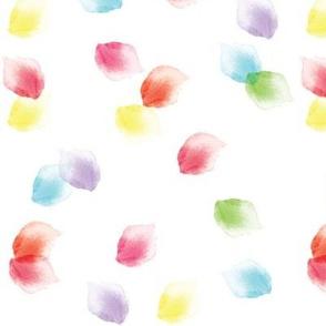 Petals in Watercolor