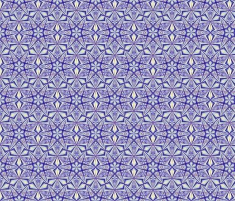 Diamond Star Blue fabric by cveti on Spoonflower - custom fabric