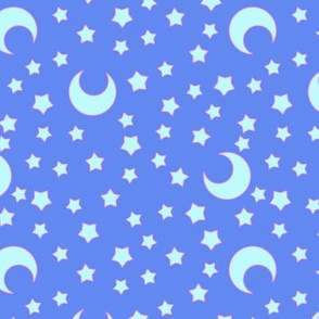 Moons and Stars for CutiEs - Large