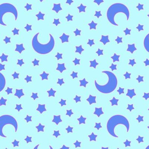 Moons and Stars for CutiEs Inverted - Large