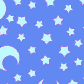 Moons and Stars for CutiEs - Jumbo