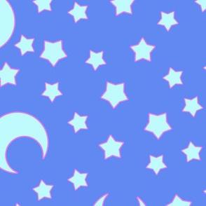 Moons and Stars for CutiEs - Jumbo