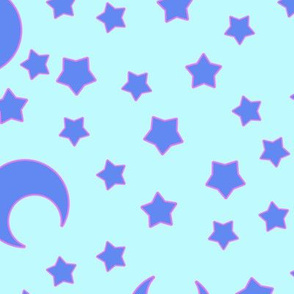 Moons and Stars for CutiEs Inverted - Jumbo