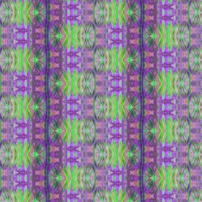 ECHOES OF LACE STRIPES PURPLE LIME