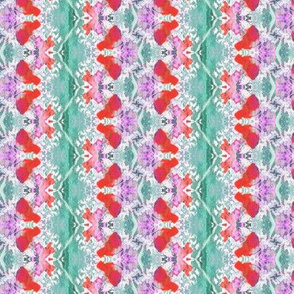 FLORAL_STRIPES_MINT_GREEN_RED_PINK_by_PAYSMAGE