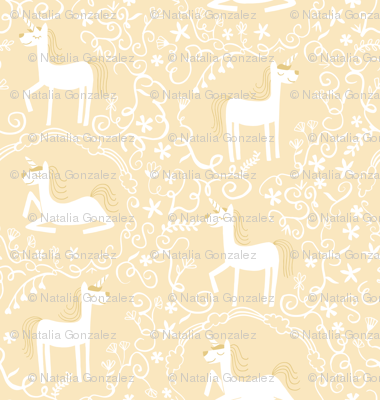 Unicorns in cream
