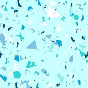 Terrazzo blue