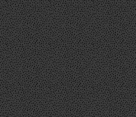 Paint Drops on Dark Grey fabric by thewellingtonboot on Spoonflower - custom fabric