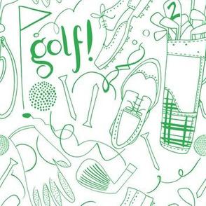 Golf green