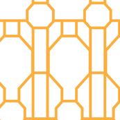 Art deco geometric octagons