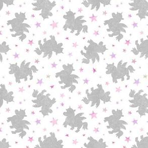Unicorns & Pink Stars