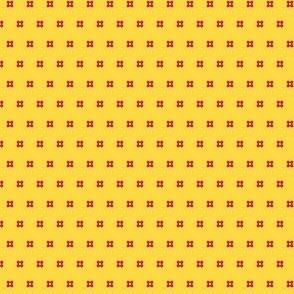 Folk Art Tiny Flowers - Colorway 1