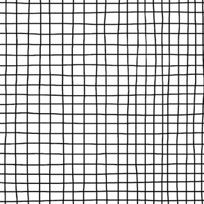 Black-and-White Grid