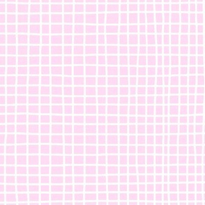 Baby Pink Grid