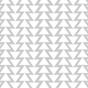 Triangle Lines on Grey