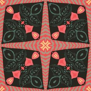 Folk Art Tile