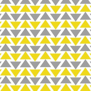 Triangle Lines in Yellow