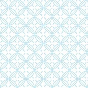 Round japanese simple pattern